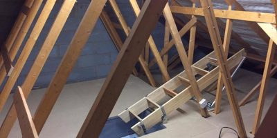 New Build Loft Boarded in Birmingham