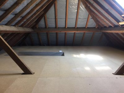 Loft Boarding in an Older Home in Twickenham
